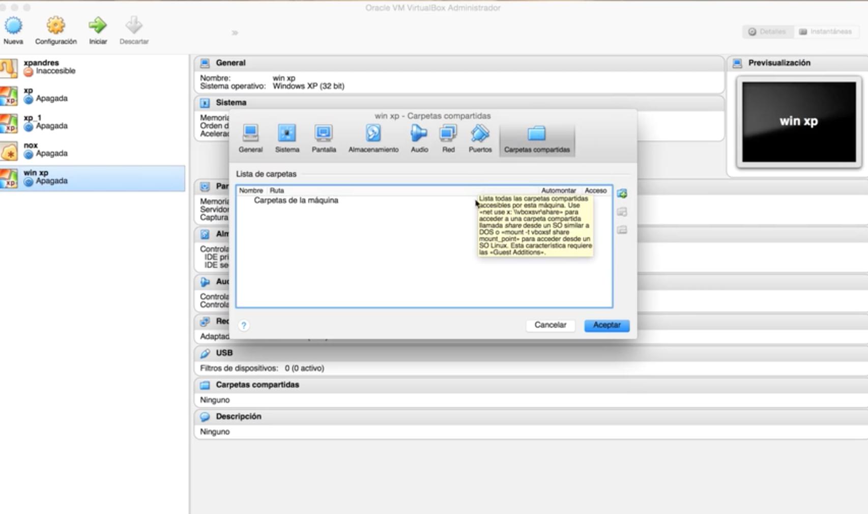 curso virtual box en mac-video6