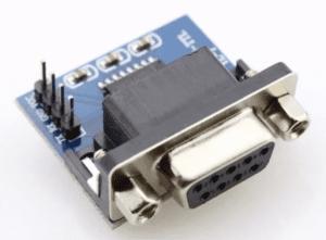 Conector para Ajustar RS232 TTL a RS232 convencional