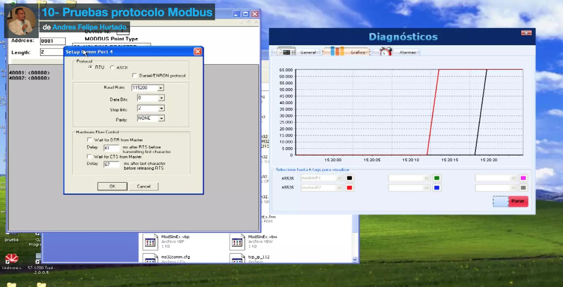 Curso de Fieldlogger- Comunicación por modbus rtu