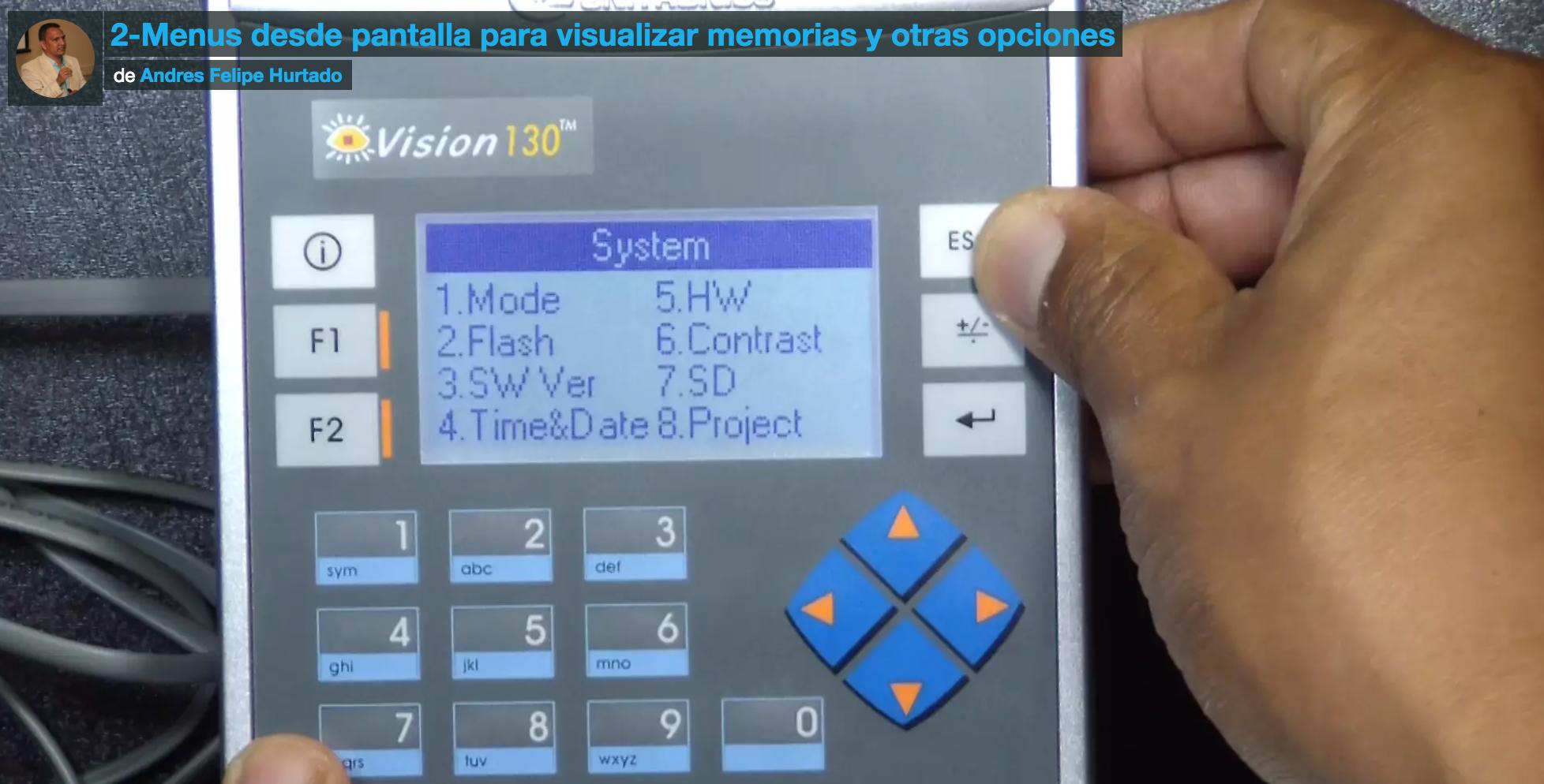 Modbus RTU en plc vision 130 de unitronics