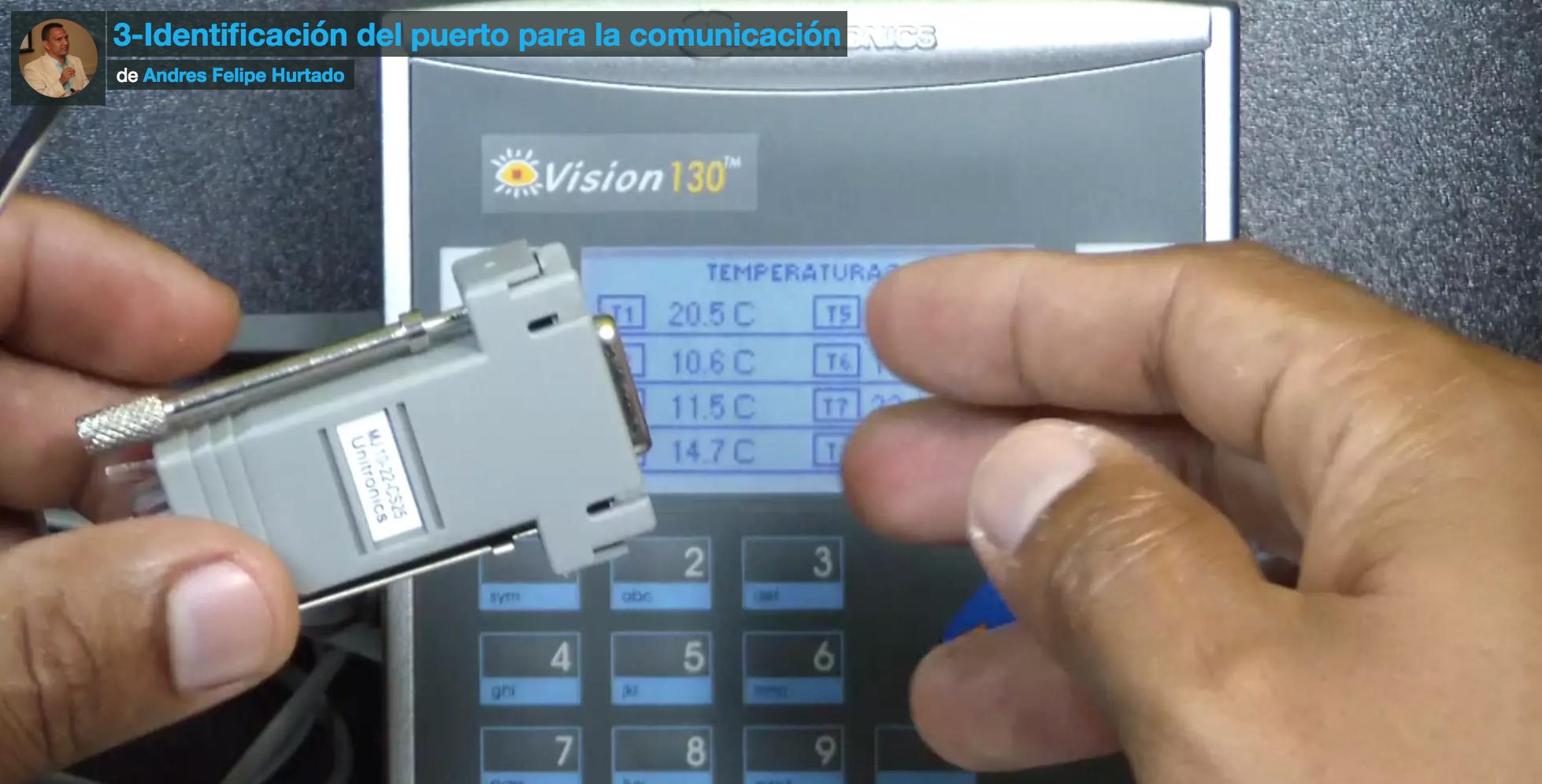 Curso modbus rtu plc vision 130 unitronics