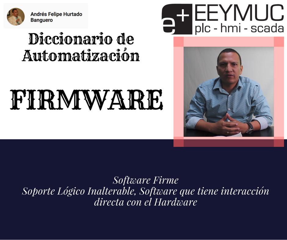 Diccionario Firmware-eeymuc