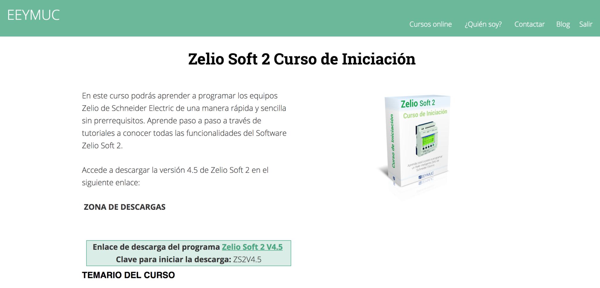 Curso zelio soft 2 en eeymuc