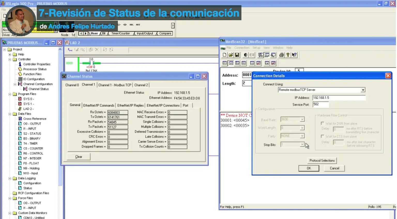Protocolo Modbus TCP en Micrologix 1400 - eeymuc