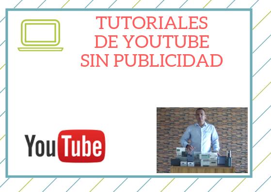 Videos de Youtube sin publicidad - EEYMUC